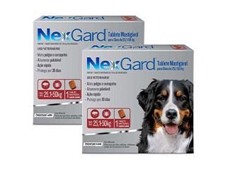 Mais Populares em Cães - Nexgard
