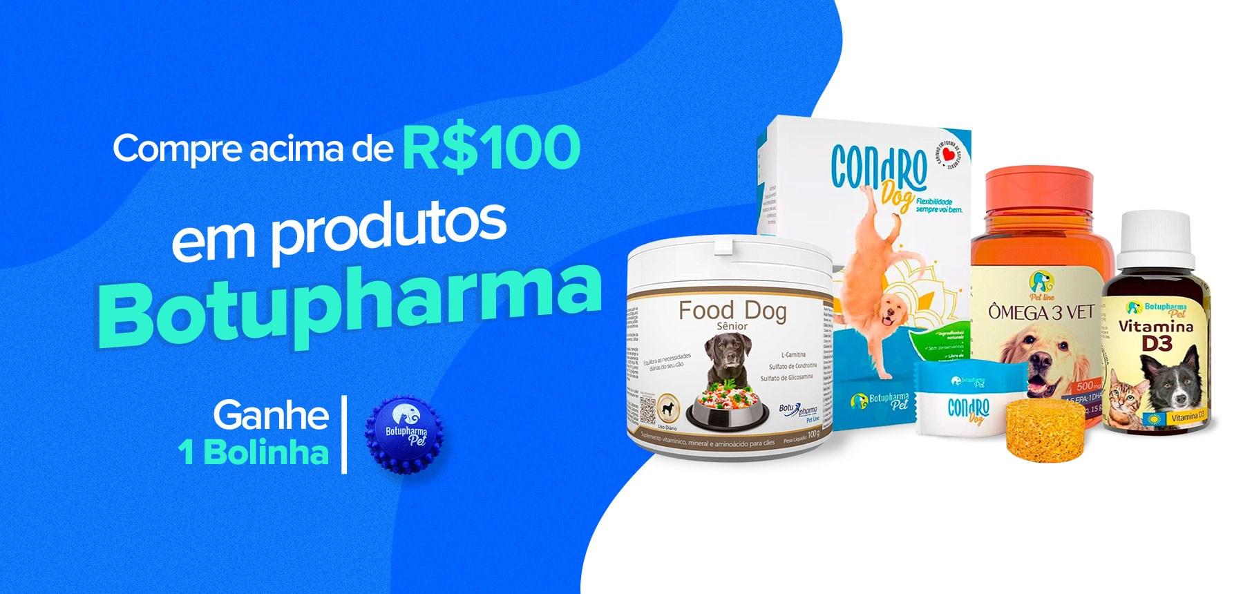 Ganhe 1 bolinha - produtos Botupharma
