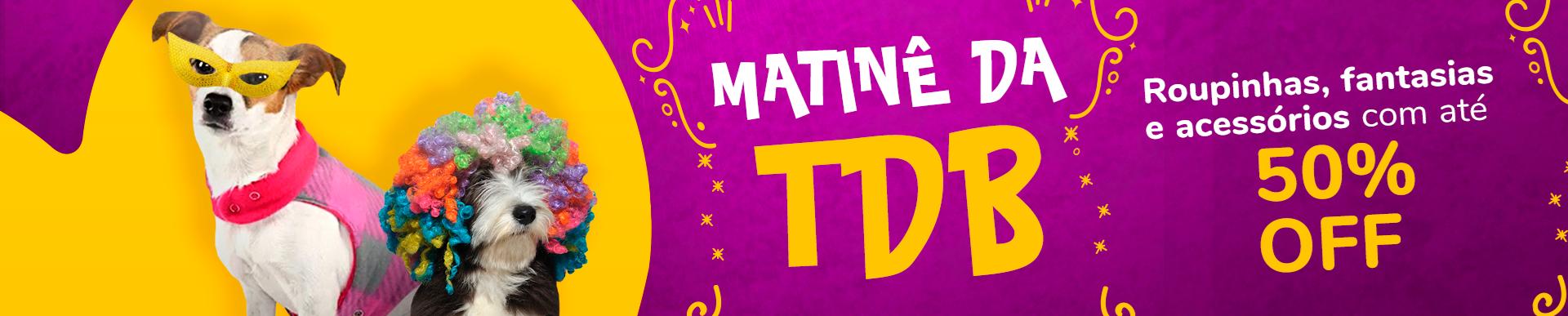 banner Matinê TDB