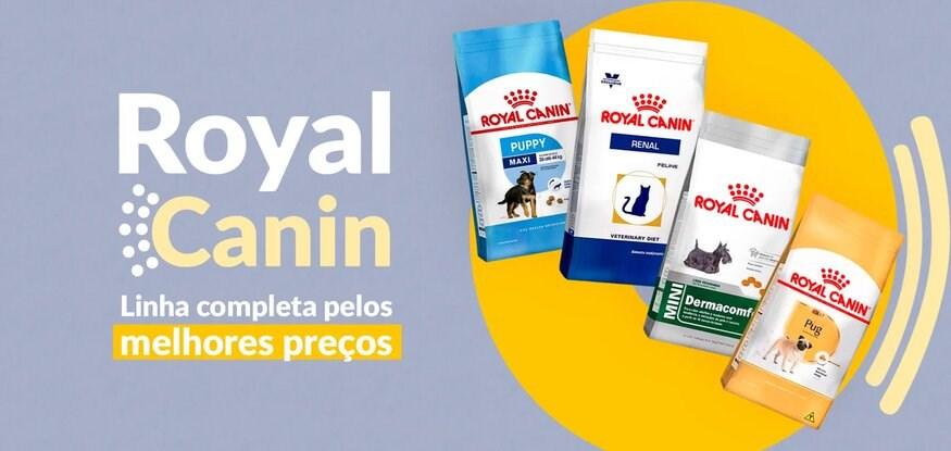 Royal Canin: Linha completa pelos melhores preços
