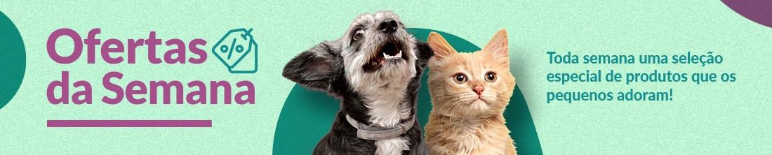 As melhores ofertas da semana você encontra na Tudo de Bicho, seu PetShop Online que tem tudo que seu pet precisa em até 3x s/ juros