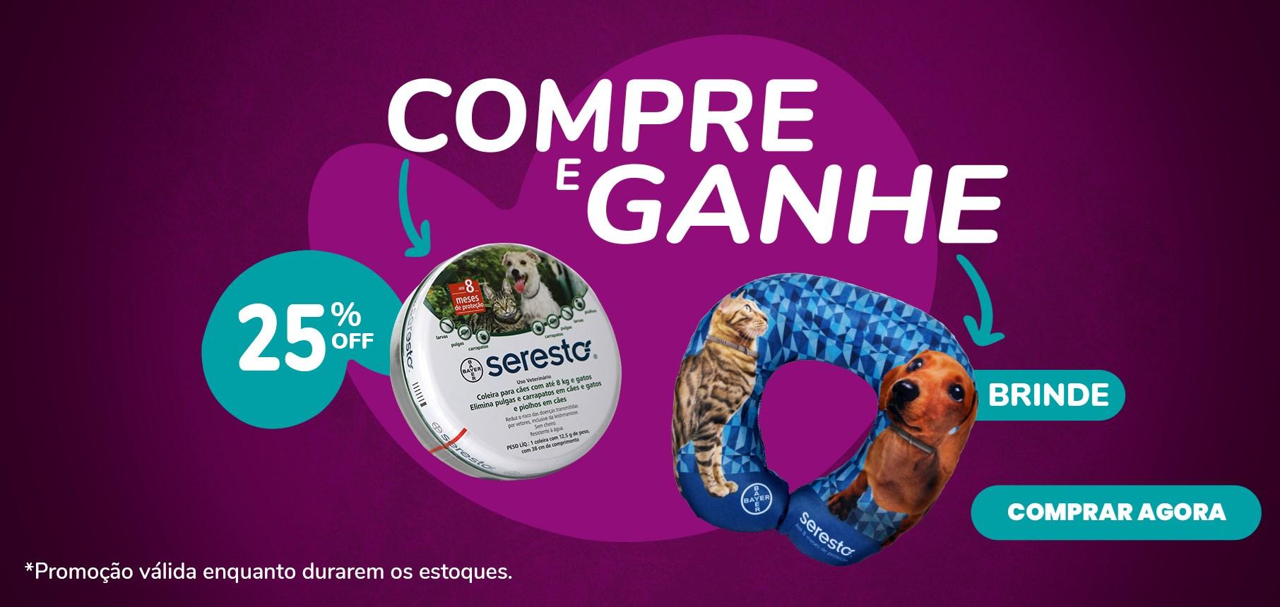 Banner Seresto + Almofada