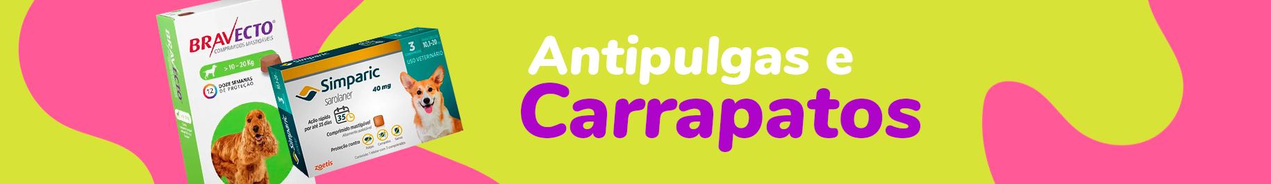 Antipulgas e carrapatos