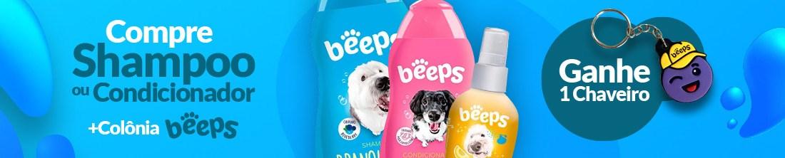 [Categoria] Compre Shampoo/Cond+Colônia Beeps e ganhe chaveiro