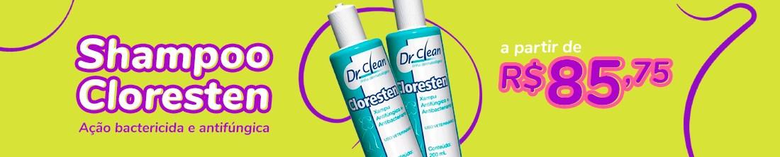 Shampoo Cloresten a partir de R$85,75