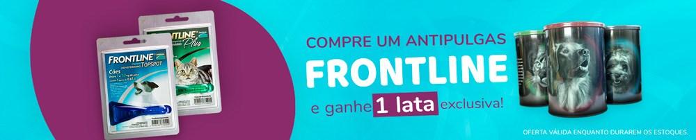 Compre Frontline, Ganhe Lata Exclusiva