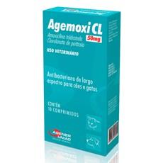 Agemoxi CL Agener União 50mg C/10 Comprimidos