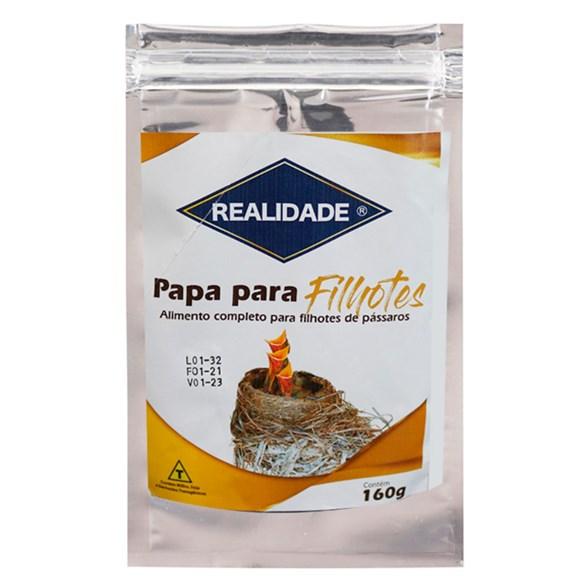 Alimento Para Passaros Papa Filhote Seta - 160g