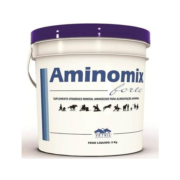 Aminomix Forte Balde Suplemento Para Cavalos Atletas - 5kg