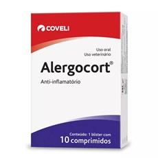 Anti-inflamatório Coveli Alergocort  200mg C/10 Comprimidos