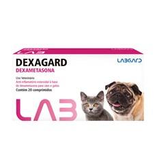 Anti-inflamatório Dexagard Cães e Gatos Labgard C/ 20 Comp.