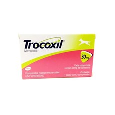 Anti-inflamatório Para Cachorro Trocoxil 30mg - Zoetis