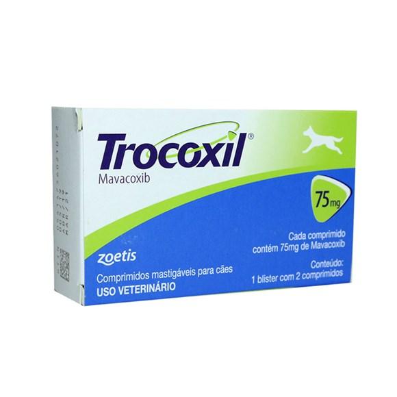 Anti-inflamatório Para Cachorro Trocoxil 75mg - Zoetis