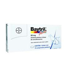 Antibiotico Baytril Flavour Caes e Gatos 50mg Bayer