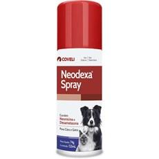 Antibiótico Neodexa Spray Cães e Gatos Coveli – 74g