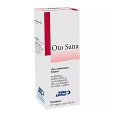 Antibiótico Oto Sana Premium Mundo Animal - 20mL