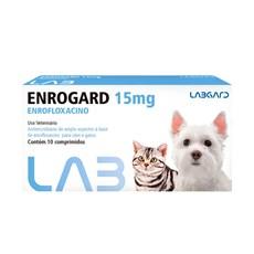 Antimicrobiano Enrogard Cães e Gatos Labgard - 15mg