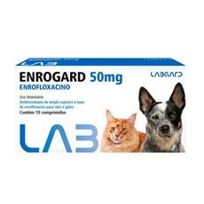 Antimicrobiano Enrogard Cães e Gatos Labgard - 50mg