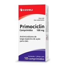 Antimicrobiano Primocilim 100mg Coveli C/10 Comprimidos