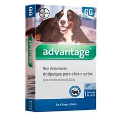 Antipulgas Advantage Caes e Gatos Acima De 25Kg Bayer