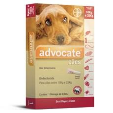 Antipulgas Advocate Cães 10Kg Até 25Kg