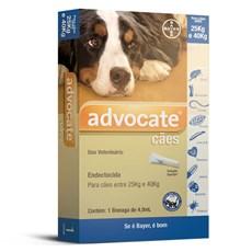 Antipulgas Advocate Cães 25Kg Até 40Kg