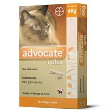 Antipulgas Advocate Gatos Até 4Kg