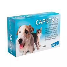 Antipulgas Capstar 11,4mg Cães e Gatos até 11,4kg C/6 Comprimidos