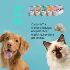 Antipulgas Comfortis 140 Mg Para Cães De 2,3 A 4kg - Elanco