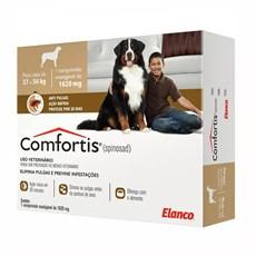Antipulgas Comfortis 1620mg Cães De 27 A 54kg - Elanco