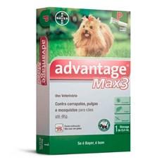 Antipulgas e Carrapatos Advantage Max3 Caes Ate 4Kg Bayer