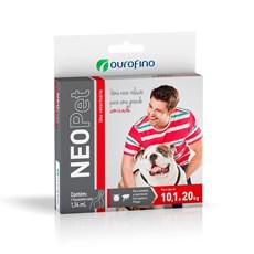 Antipulgas e Carrapatos Neopet Cães 10,1 a 20Kg Ourofino