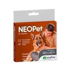Antipulgas e Carrapatos Neopet Caes 20,1 a 40KG Ourofino