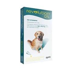 Antipulgas Revolution 12% Cães 20,1 a 40Kg - Zoetis