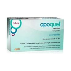 Apoquel 5,4mg Remédio Para Dermatite Canina C/20 Comprimidos