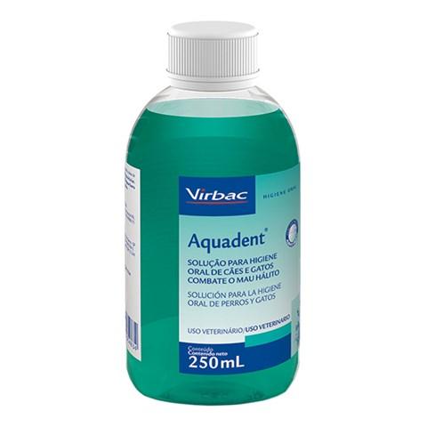 Aquadent Solução Para Higiene Oral 250ml - Virbac Sabor:Menta