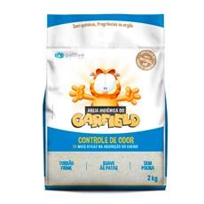 Areia Higiênica Garfield Clássica Azul - 2kg