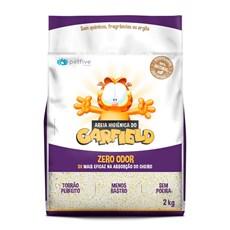 Areia Higiênica Gato Garfield Biodegradável Grão Grosso - 2kg