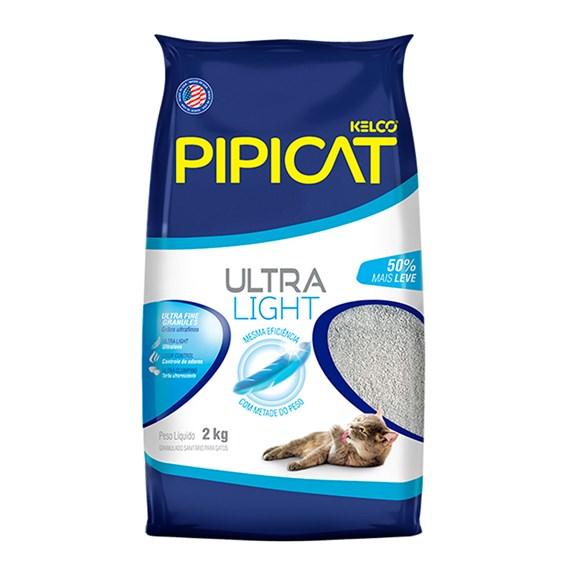 Areia Higiênica PipCat Ultra Light - 2kg