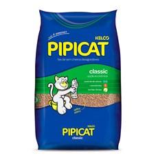 Areia Higiênica Pipicat Classic - 12Kg