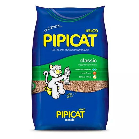 Areia Higiênica Pipicat Classic - 4Kg