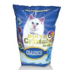 Areia P/ Gato Silica Micro Cristais Em Gel 1,8kg - Chalesco
