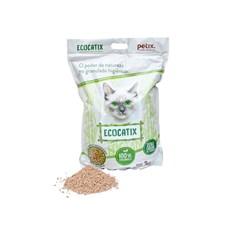 Areia Para Gatos Granulado Biodegradavel Petix Ecocatix 3kg