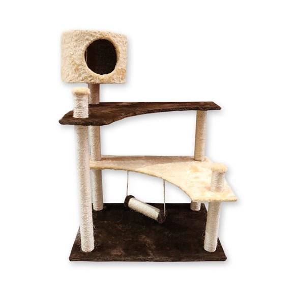 Arranhador Pet Lar Gatos Castelo Gira Gira