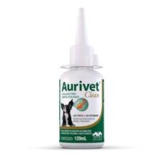 Aurivet Clean Solução Limpeza Otológica Vetnil - 120mL
