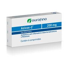 Azicox-2 200mg c/ 6 comprimidos
