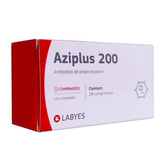 Aziplus 200 Cães e Gatos Labyes C/18 Comprimidos