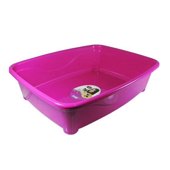 Banheira Gato Higiênica Furacão Pet Classic Rosa