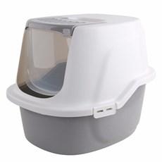Banheiro Fech. Higiênico Branco Caixa De Areia Gatos Pawise
