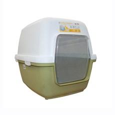 Banheiro Fechado Para Gatos Cat Toilette Verde - Chalesco